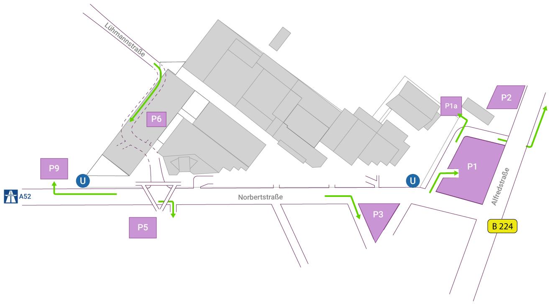 Essen Trade Fair Directions Parking Hotels Exhibitions